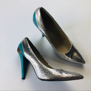 Bakers Sole Project Silver Metallic Pinup Monroe